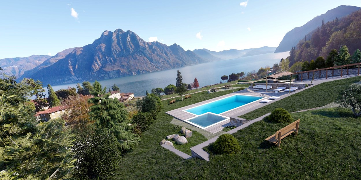 Lombardy villas for sale Lake Iseo (BG) Italian Lake