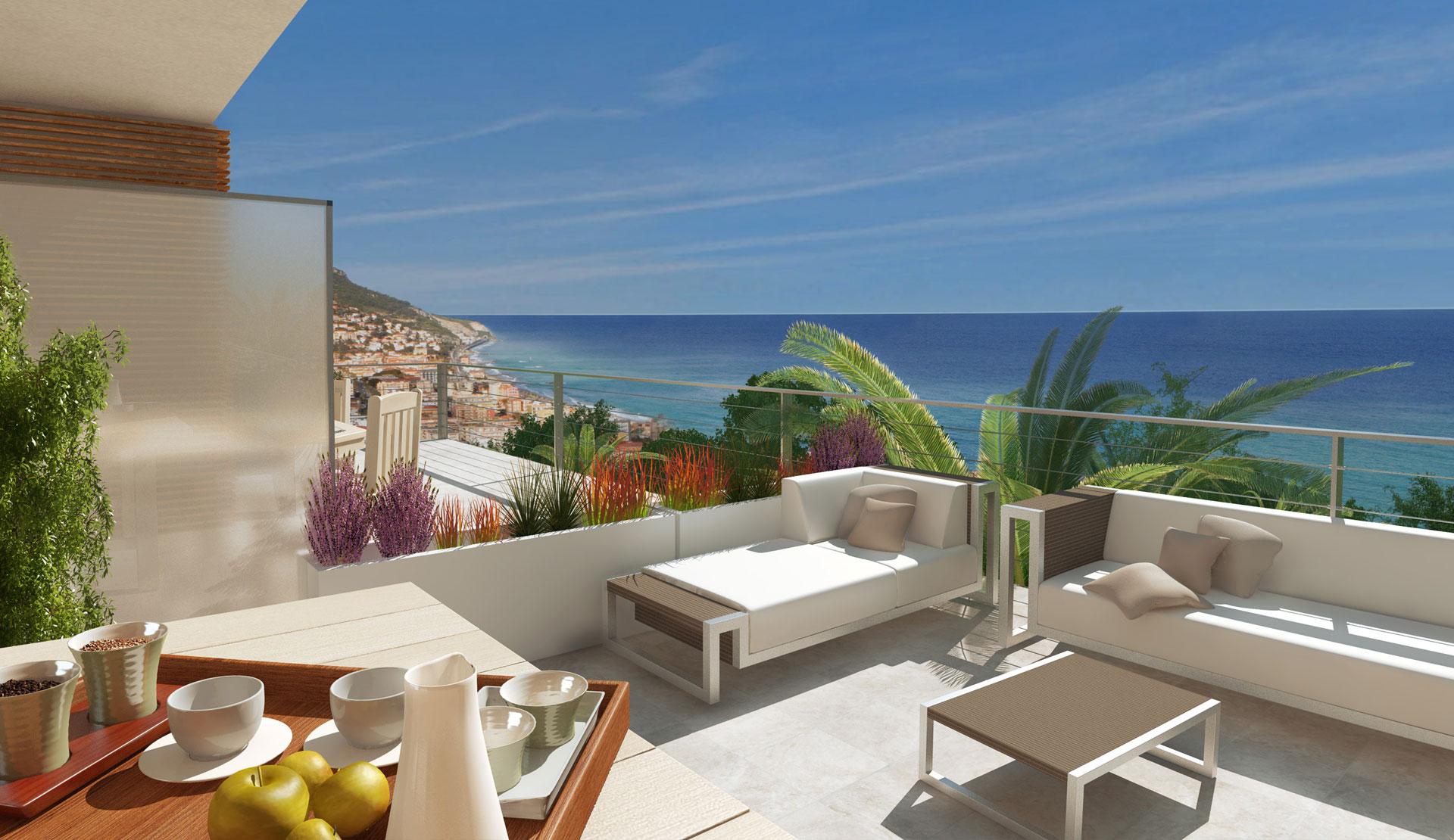 case vendita loano sv residenze vista mare